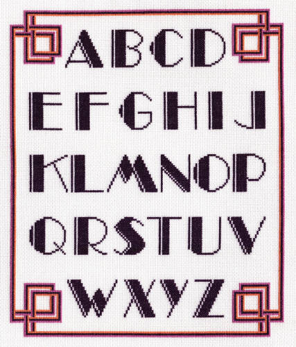 Displaying (19) Gallery Images For Art Deco Alphabet...